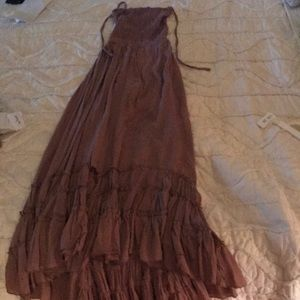 Dresses & Skirts - Maxi dress, open back